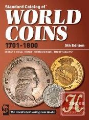 Книга Standard Catalog of World Coins 1701-1800 (5th Edition)