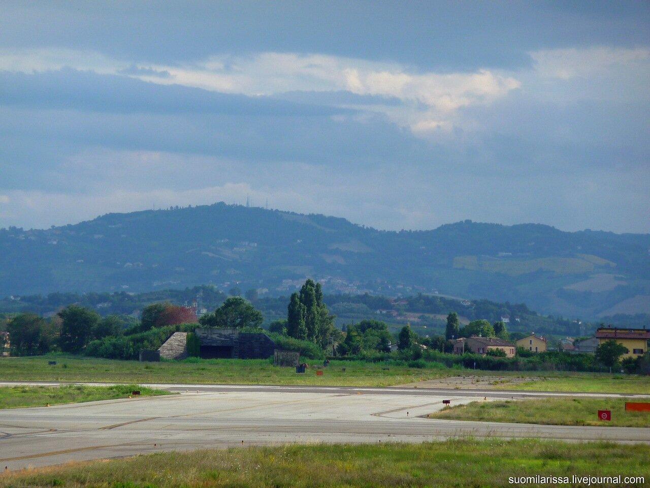 Римини-2014, аэродром