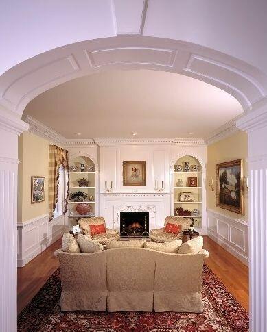 Преображение помещения при помощи арки