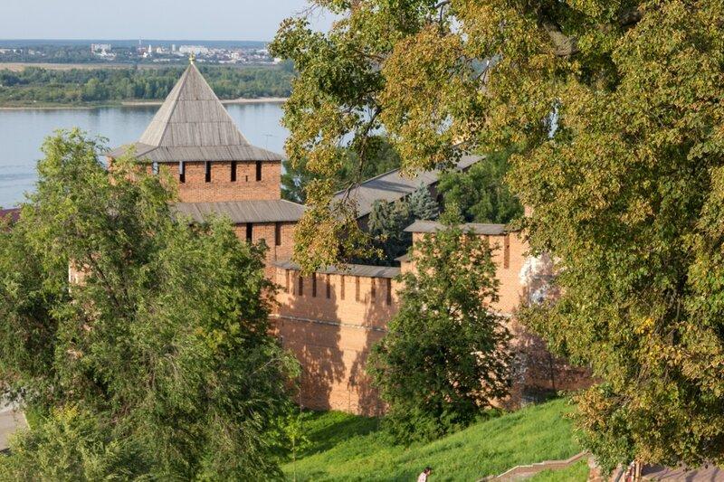 Стены Нижегородского кремля, Нижний Новгород