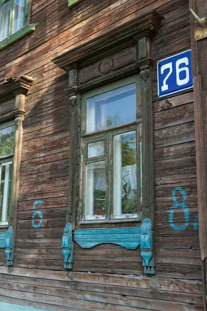 Старый деревянный дом, Нижний Новгород