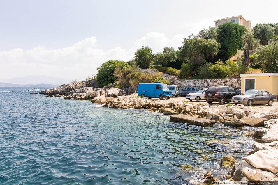 Каменистые берега Кассиопи (Корфу)