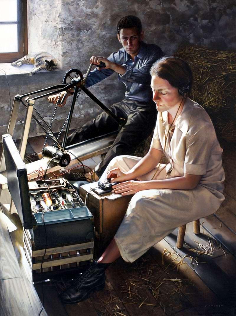 Ромашки, которые зацвели в этот вечер (Les Marguerites Fleuriront ce Soir) - Jeffrey W. Bass, 2006 год