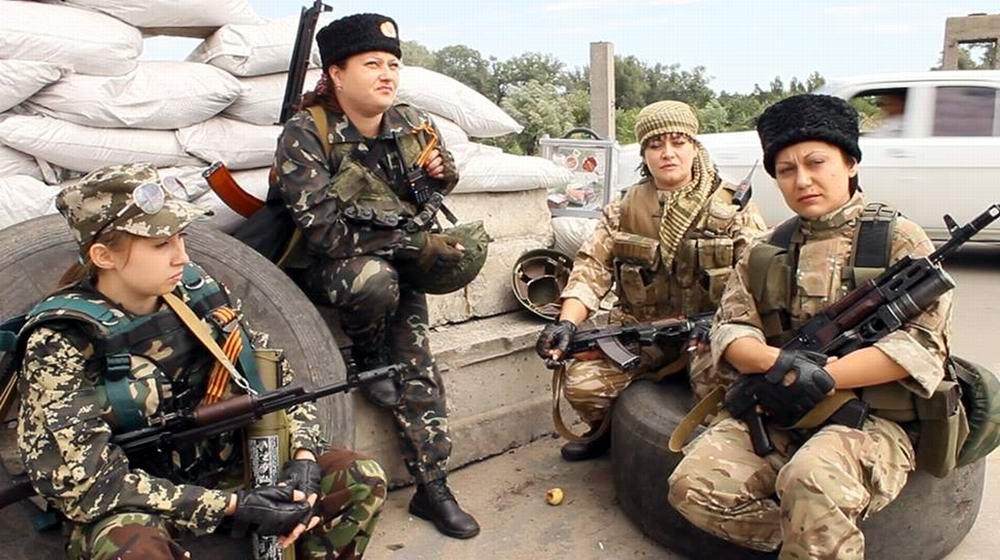 Женский батальон из Северодонецка (ЛНР) -  3