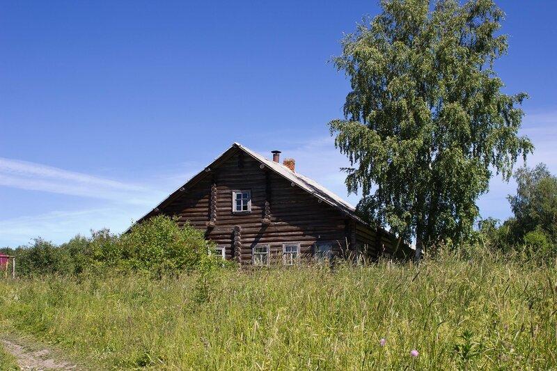 дом в деревне Тимойгора