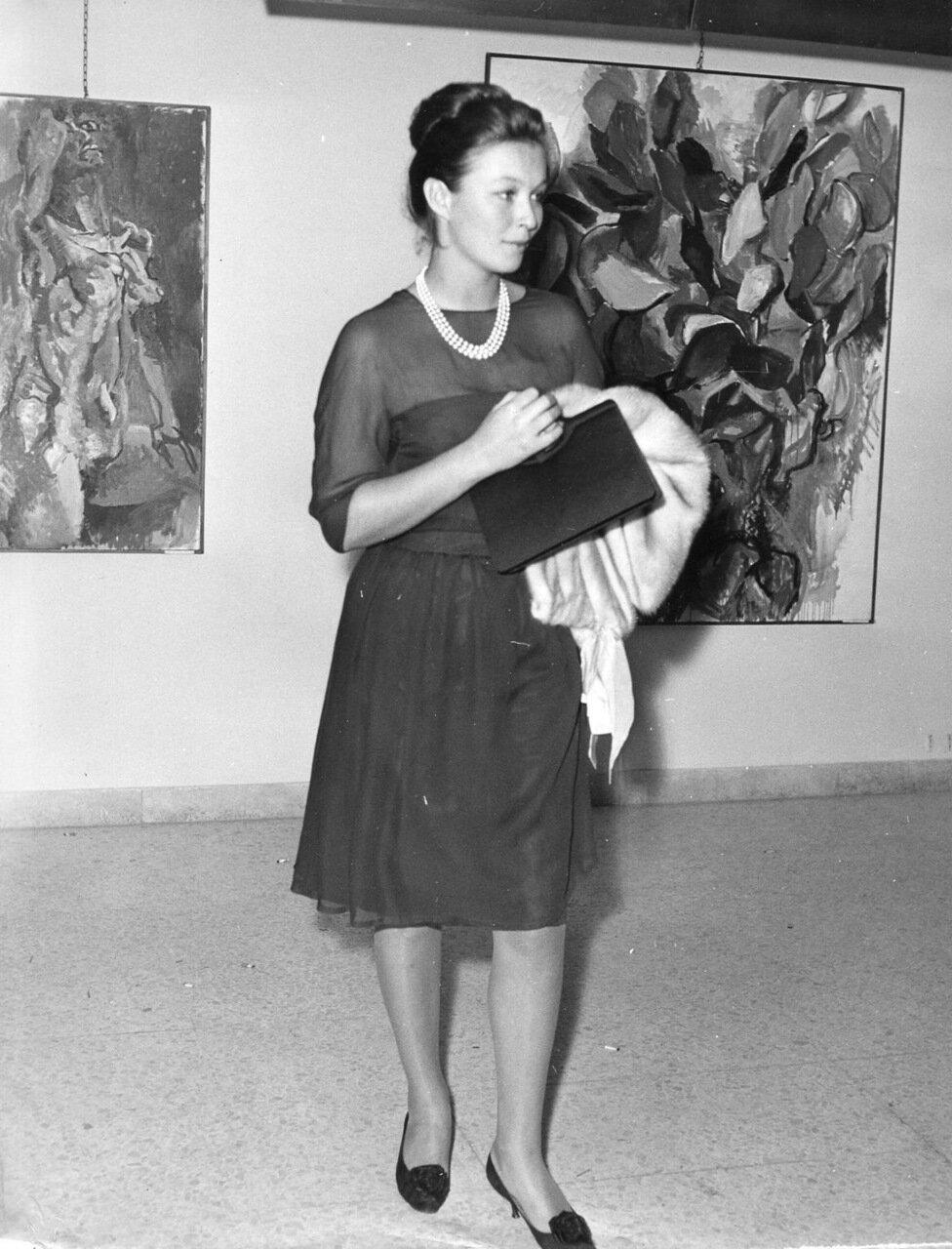 1960. Марина Влади