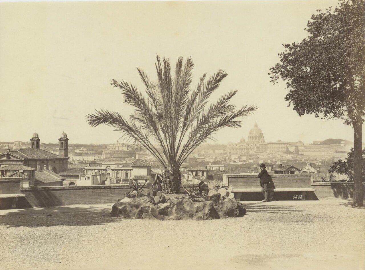 Панорама города. 1875.