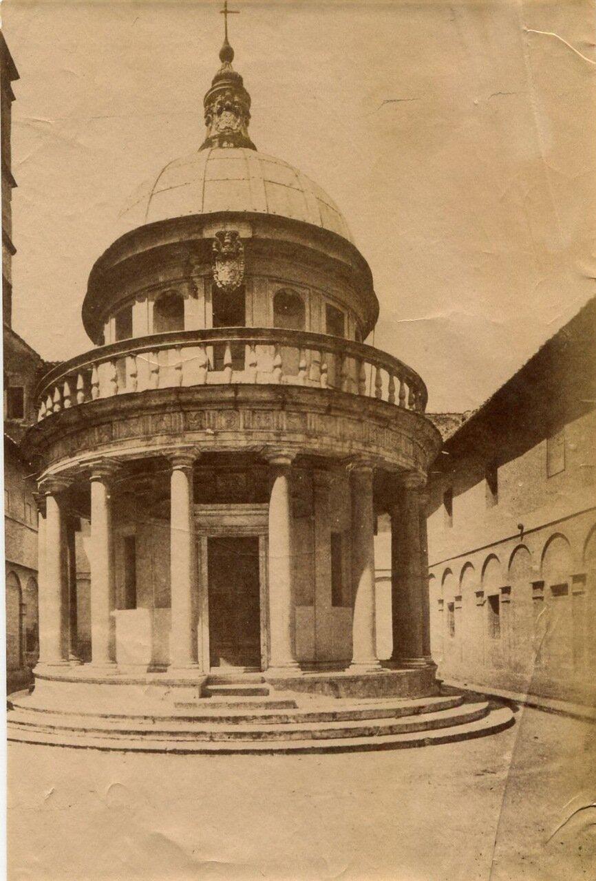 Сан-Пьетро-ин-Монторио. 1880