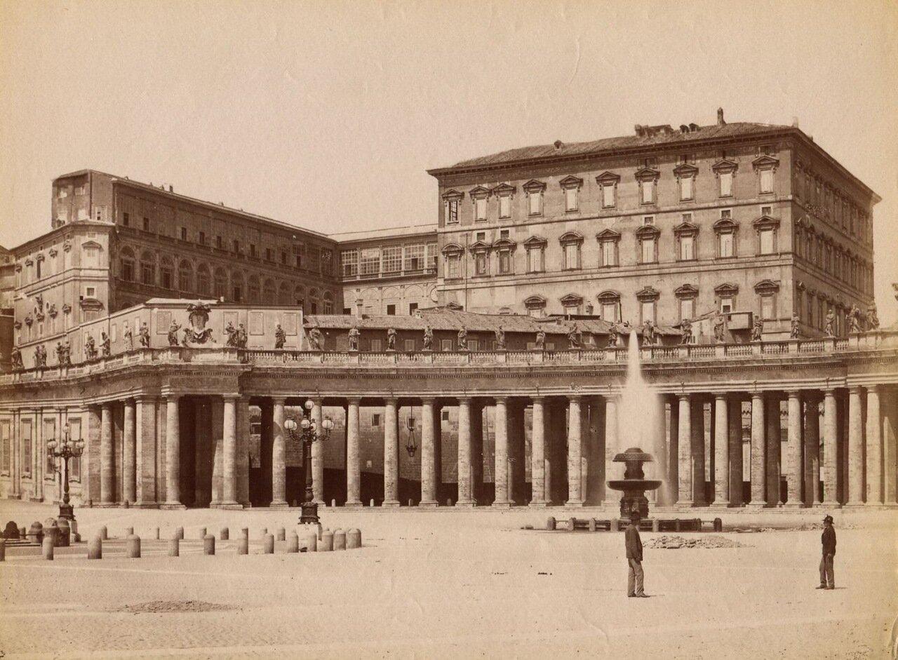 Ватиканский дворец. 1880