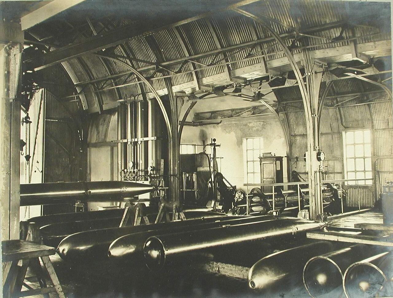 26. Внутренний вид одного из помещений минной пристрелочной станции