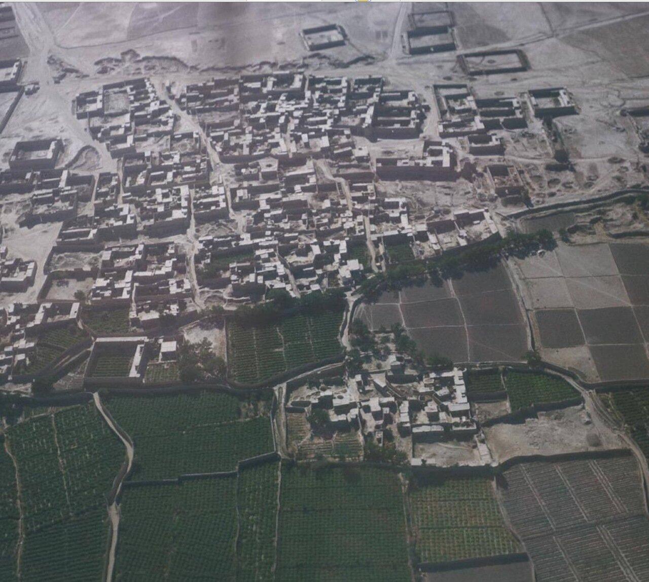 Аэрофотосъемка города Мазари-Шариф