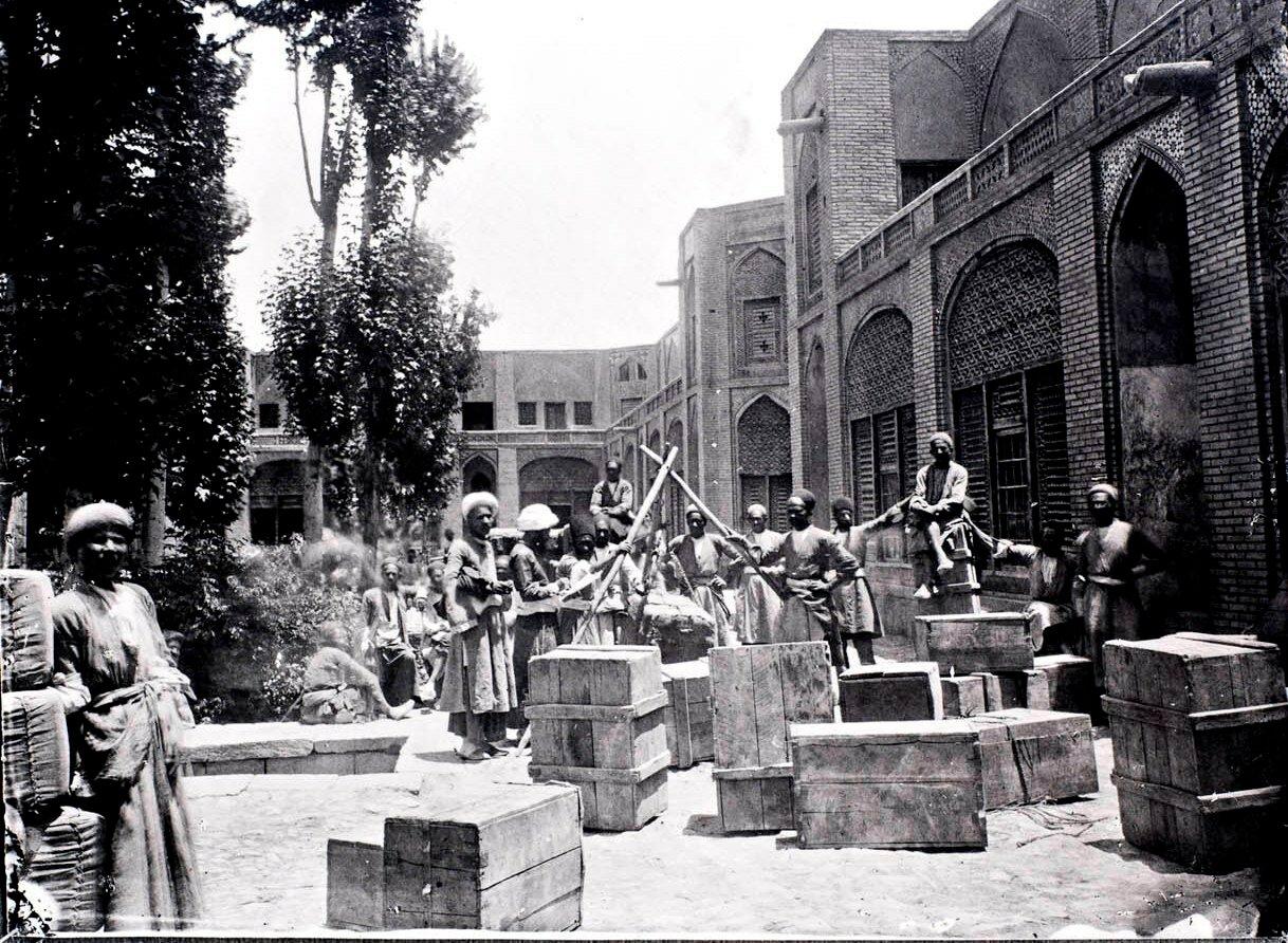 Исфахан. Караван-сарай