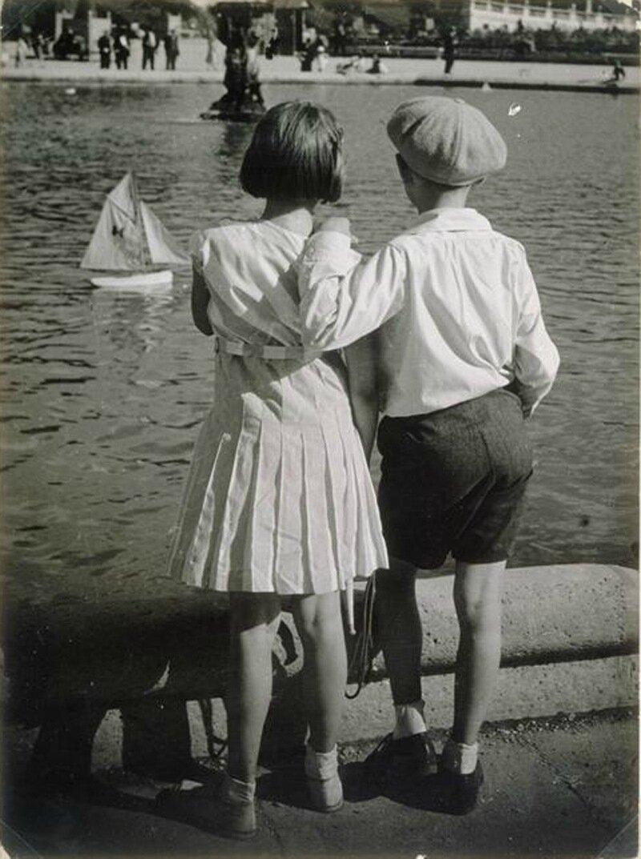 1930. Бассейн в Люксембургском саду