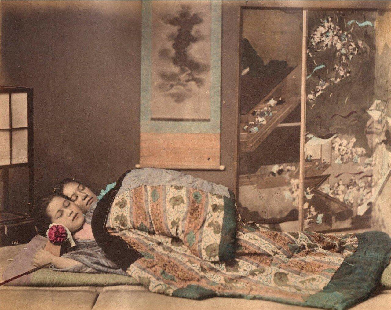 Две сестры, ок 1875-1885