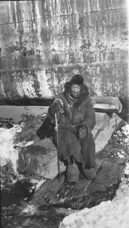 Portrait of an elderly man, Vladivostok, 1919-20. Photo by Merrill Haskell.