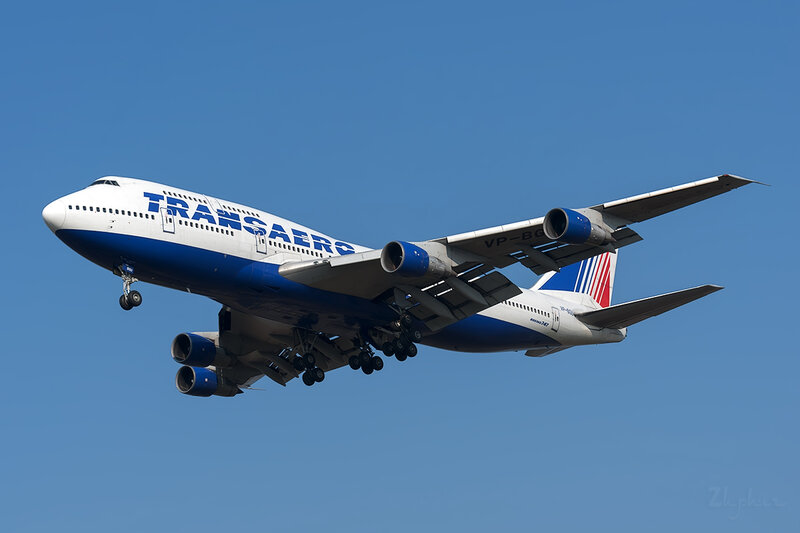 Boeing 747-346 (VP-BGU) Трансаэро DSC6690