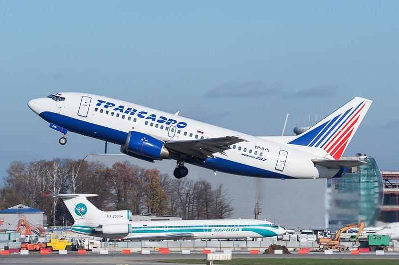 Boeing 737-524 (VP-BYN) Трансаэро DSC7022