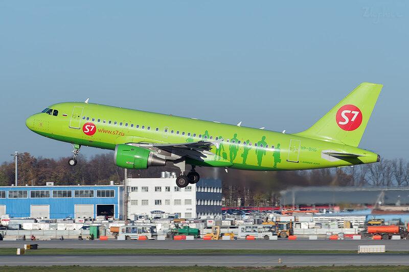Airbus A319-114 (VP-BHG) S7 DSC7166