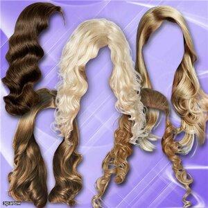 Клипарт прически для фотошопа – Длинные волосы 0_ca09b_b4d0affa_M