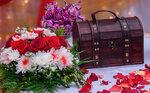 Свадебные колечки, букеты, украшения