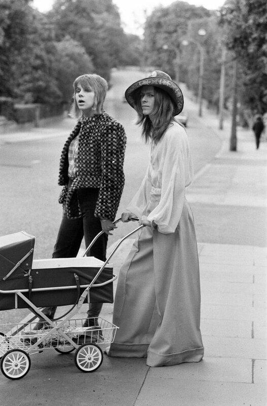 Мистер и миссис Боуи, 1973 год