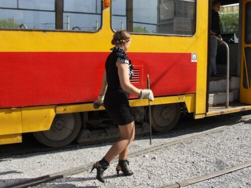 Вот такие водители трамваев в Барнауле
