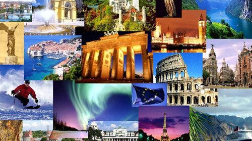 Волшебство европейских каникул