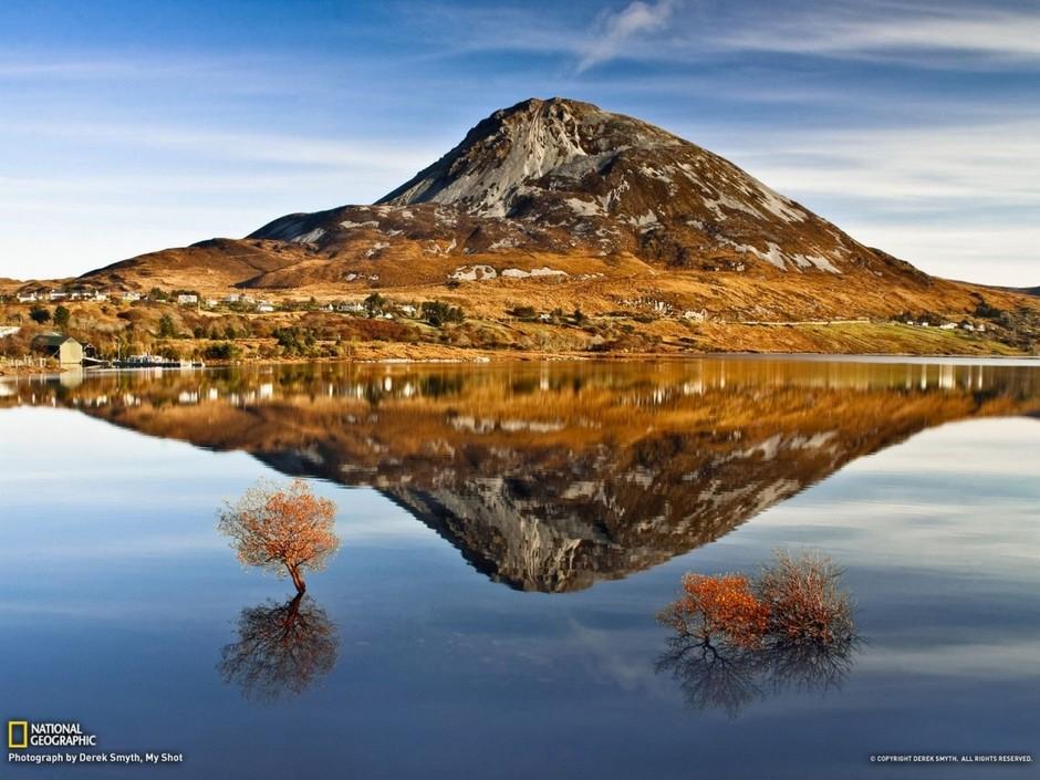 Гора Эрригал (Errigal Mount), Ирландия