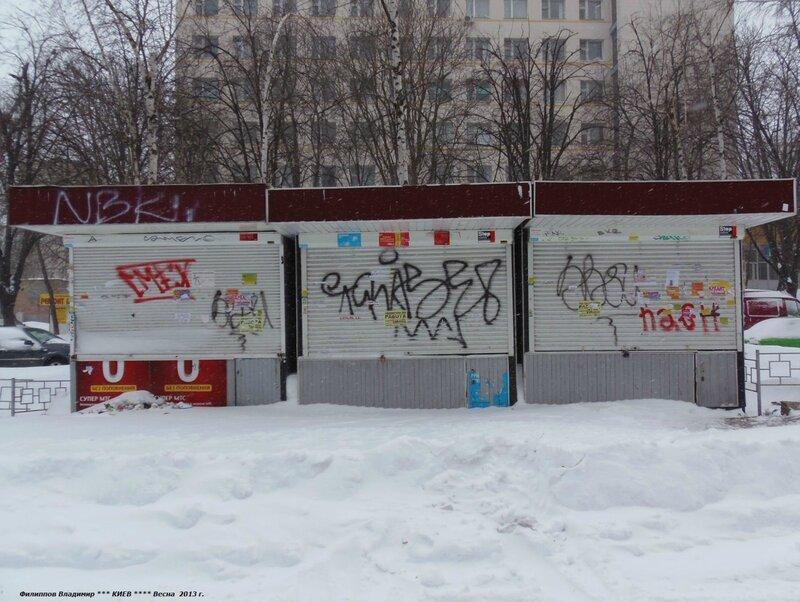 Город Киев.Улица Политехническая. 23 марта 2013 г.