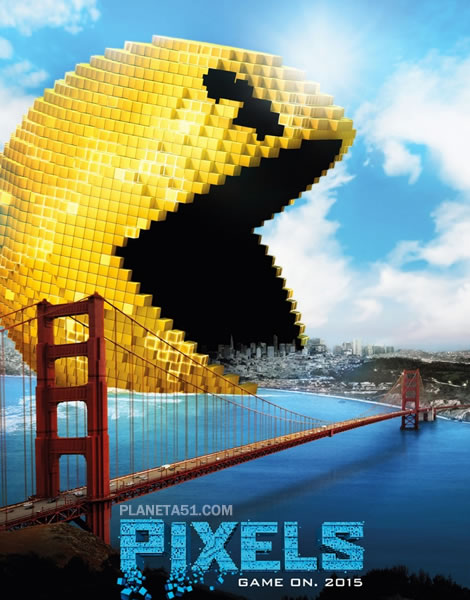 Пиксели / Pixels (2015/WEB-DL/WEB-DLRip)