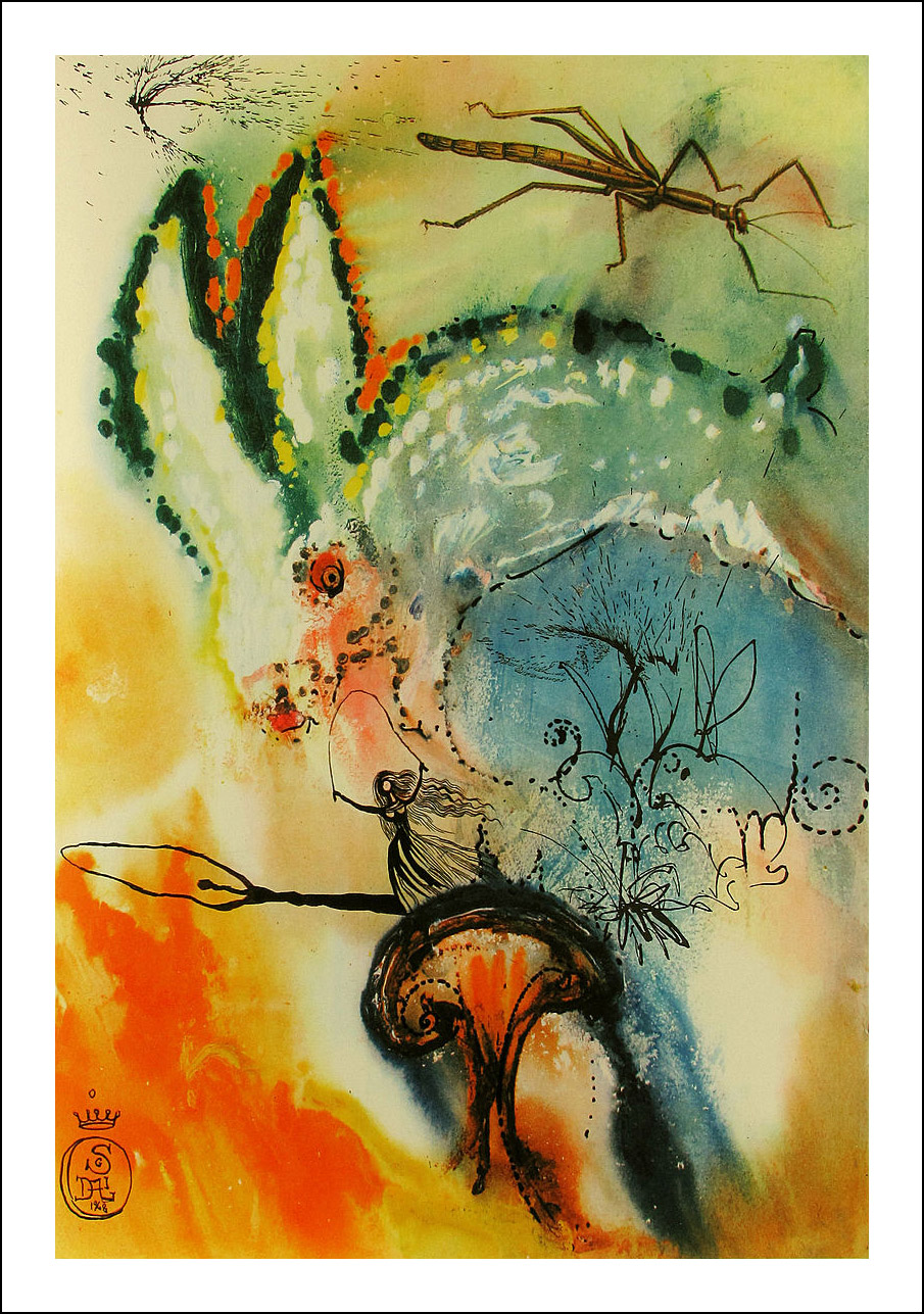 Salvador Dali, Alice in Wonderland