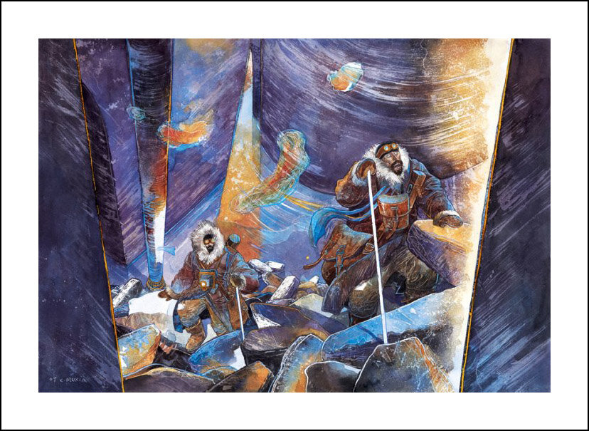 Enrique Breccia, En las montañas de la locura