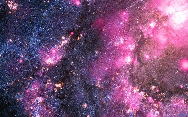 Спиральная галактика М83 фрагмент Spiral Galaxy M83 NASA Chandra Hubble 30.04.2012