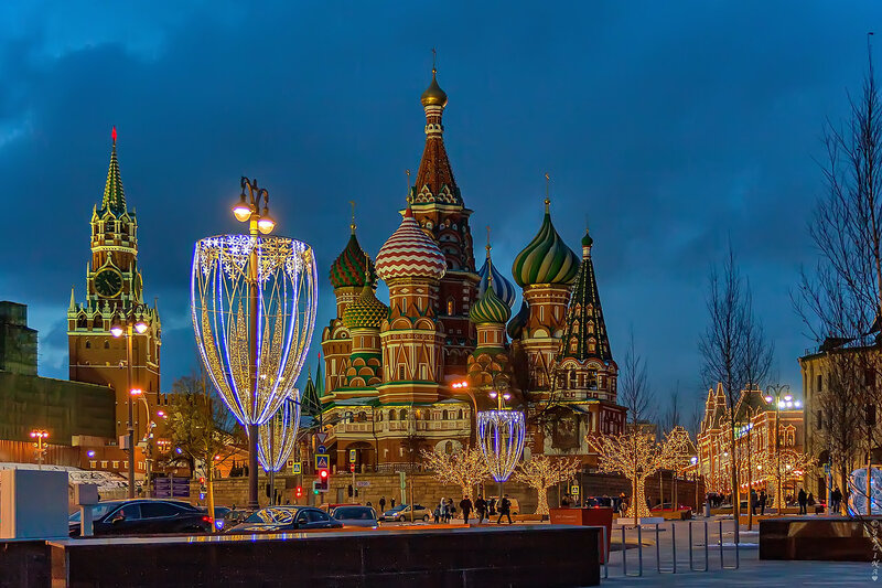 Храм Василия Блаженного(собор Покрова на Рву)