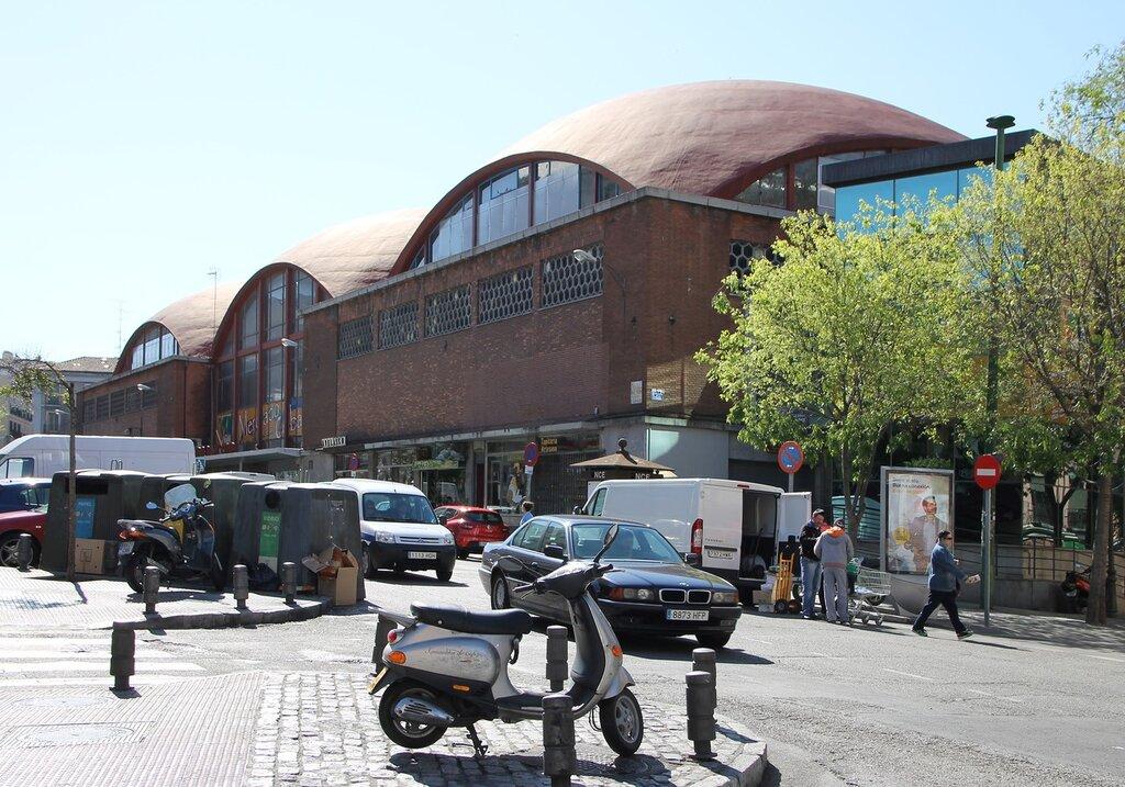 Мадрид. Рынок Кебада (Mercado de la Cebada)