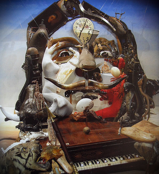 Bernard Pras / Бернар Пра. 3D-анаморфные портреты