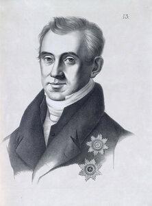 Каподистриас Иван Антонович, Граф