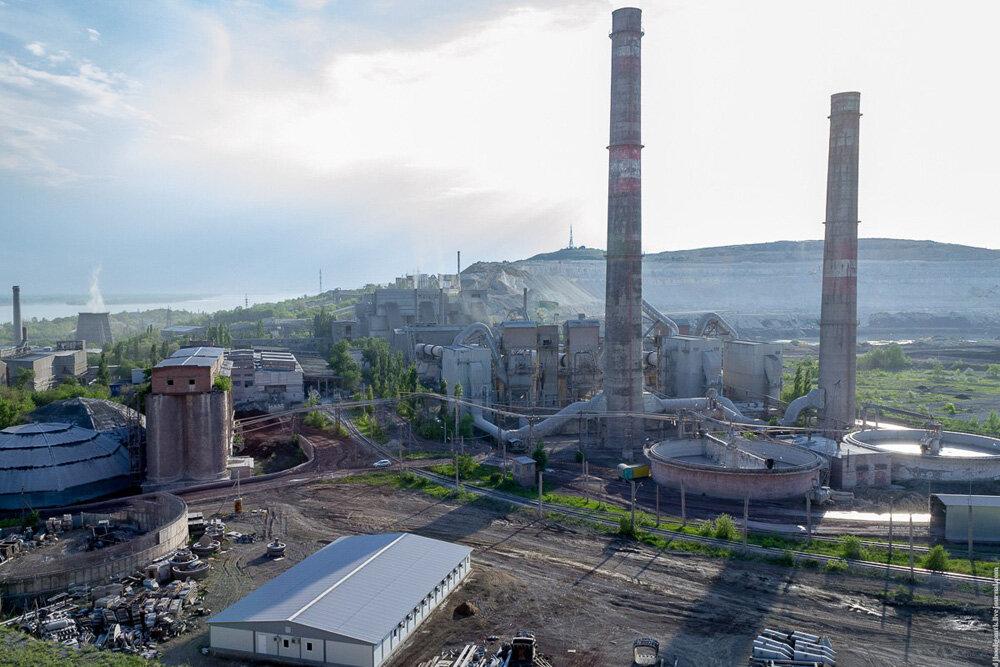 фото завода сверху -
