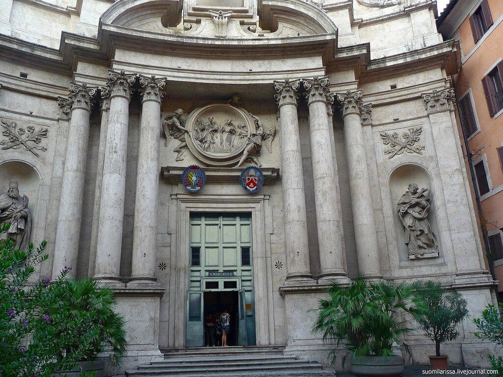 Церковь San Marcello al Corso.