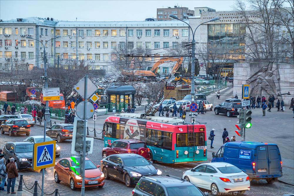 снос в Москве