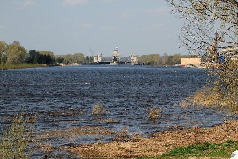Шлюзы №15 и №16 Горьковской ГЭС