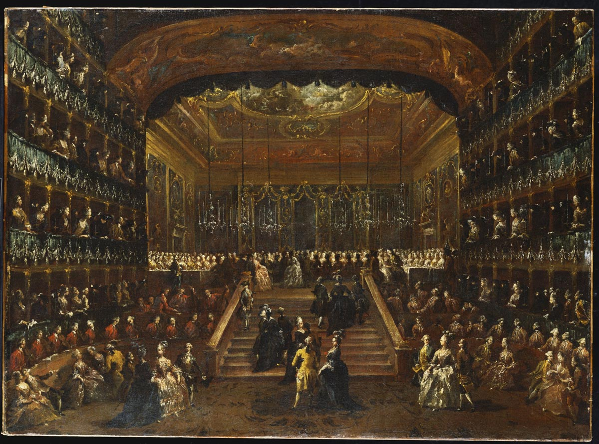 Павел I в Венеции
