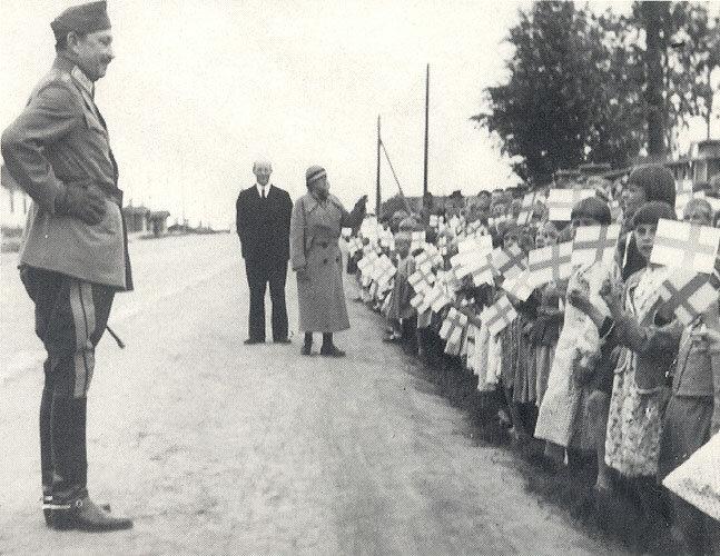 Оккупация Петрозаводск