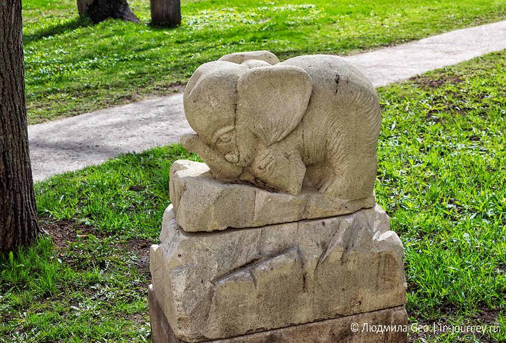 скульптура слоника