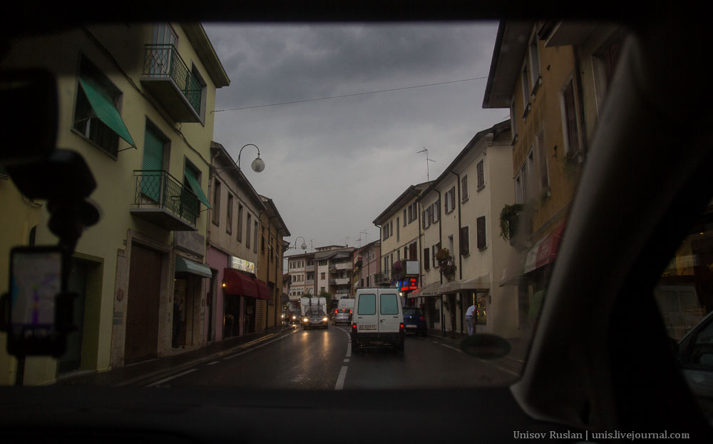 Автомобильное путешествие по Европе