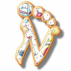 Ножки, ручки и прочее - алфавиты (латиница), ступни