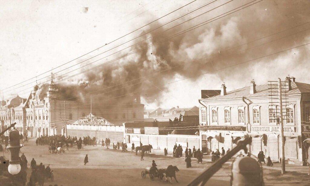 Пожар на ул. Большой