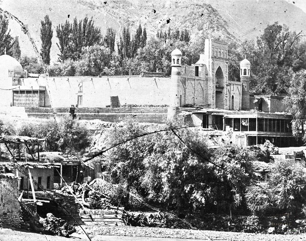 Мечеть города Ош. Фото 1899г.