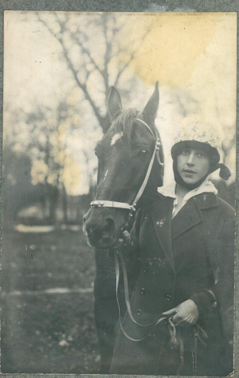 Жена Булак-Балаховича Герда фон Герхард. 1920 г.
