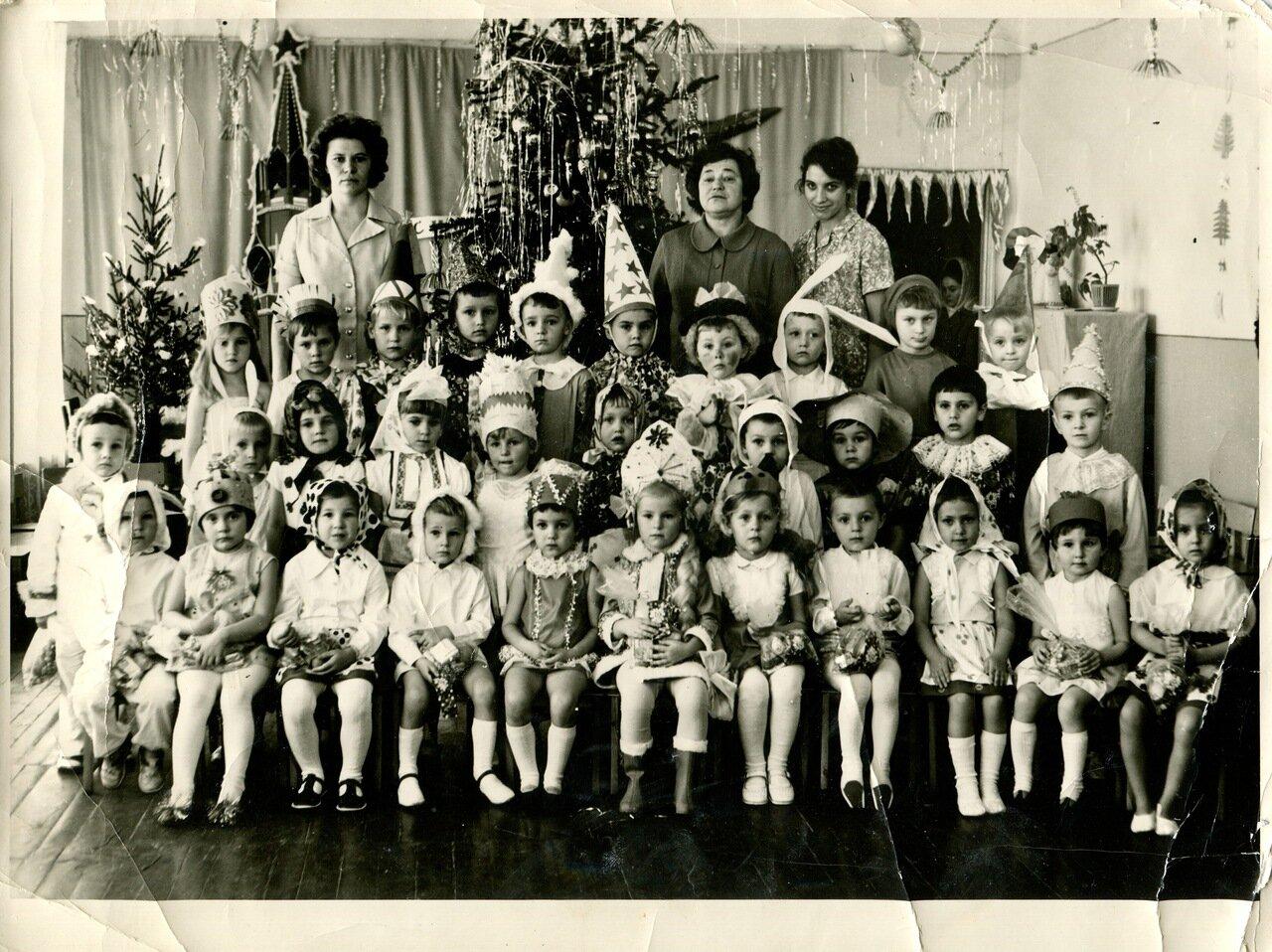 1975. Новый год в детском саду Теремок